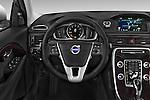 Car pictures of steering wheel view of a 2015 Volvo XC70 T5 5 Door Wagon