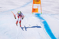 13th February 2021, Cortina, Italy; FIS World Championship Womens Downhill Skiing;  Mirjam Puchner of Austria in action during for womens Downhill Race