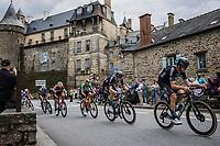 Tiesj Benoot (BEL/DSM) and Nils Eekhof (NED/DSM)<br /> <br /> Stage 4 from Redon to Fougiéres (150.4km)<br /> 108th Tour de France 2021 (2.UWT)<br /> <br /> ©kramon