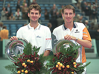 Haarhuis en Eltingh winnen hat ABNAMRO tournooi 1997