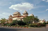 Rambagh Palast Hotel in Jaipur (Rajasthan), Indien
