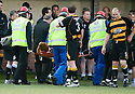 24/08/2010   Copyright  Pic : James Stewart.sct_jsp013_alloa_v_aberdeen  .:: FRASER FYVIE IS CARRIED OFF  :: .James Stewart Photography 19 Carronlea Drive, Falkirk. FK2 8DN      Vat Reg No. 607 6932 25.Telephone      : +44 (0)1324 570291 .Mobile              : +44 (0)7721 416997.E-mail  :  jim@jspa.co.uk.If you require further information then contact Jim Stewart on any of the numbers above.........