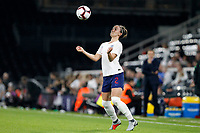 Lucy Bronze of England Women during the Women's international friendly match between England Women and Australia at Craven Cottage, London, England on 9 October 2018. Photo by Carlton Myrie / PRiME Media Images.