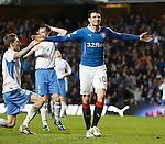 Haris Vuckic celebrates his goal
