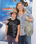 Camryn Manheim and son at The Warber Bros. Pictures'  World Premiere of HAPPY FEET TWO held at The Grauman's Chinese Theatre in Hollywood, California on November 13,2011                                                                               © 2011 Hollywood Press Agency