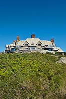 Mansion, Cliff Walk, Newport, RI, Rhode Island, USA