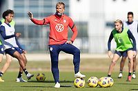 BRADENTON, FL - JANUARY 19: Jason Kreis U-23 Head coach during a training session at IMG Academy on January 19, 2021 in Bradenton, Florida.