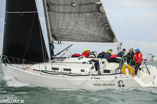 The Goodbody family's J/109 White Mischief was one of the most successful contenders in Dublin Bay SC's compacted but very busy season. Photo Afloat.ie