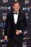 Jonny Bairstow<br /> arriving for the BT Sport Industry Awards 2018 at the Battersea Evolution, London<br /> <br /> ©Ash Knotek  D3399  26/04/2018