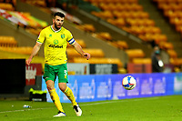 3rd November 2020; Carrow Road, Norwich, Norfolk, England, English Football League Championship Football, Norwich versus Millwall; Grant Hanley of Norwich City plays the ball inside