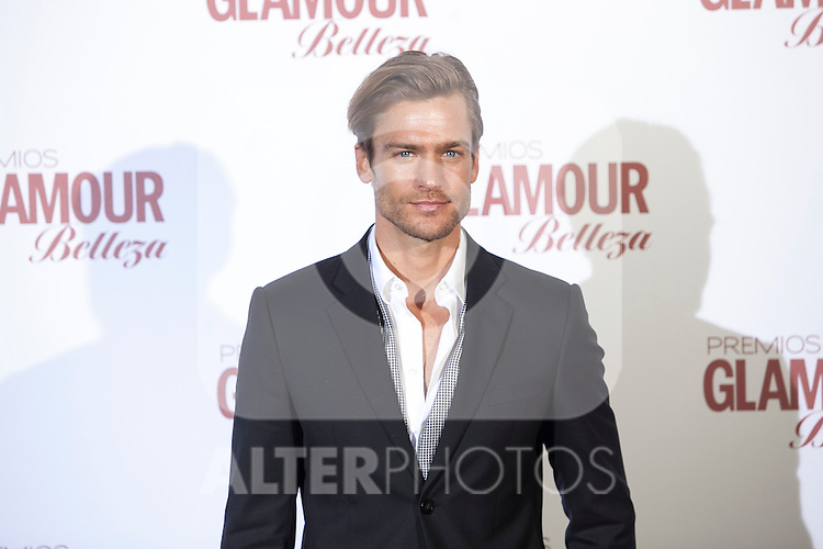 Jason Morgan attends 2016 Glamour Belleza Awards en Madrid, Spain. February 04, 2016. (ALTERPHOTOS/Victor Blanco)