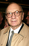 Neil Simon and wife Elaine Joyce<br />Attending the Opening night performance of Neil Simon's THE ODD COUPLE at the Brooks Atkinson Theatre in New York City.<br />October 27, 2005