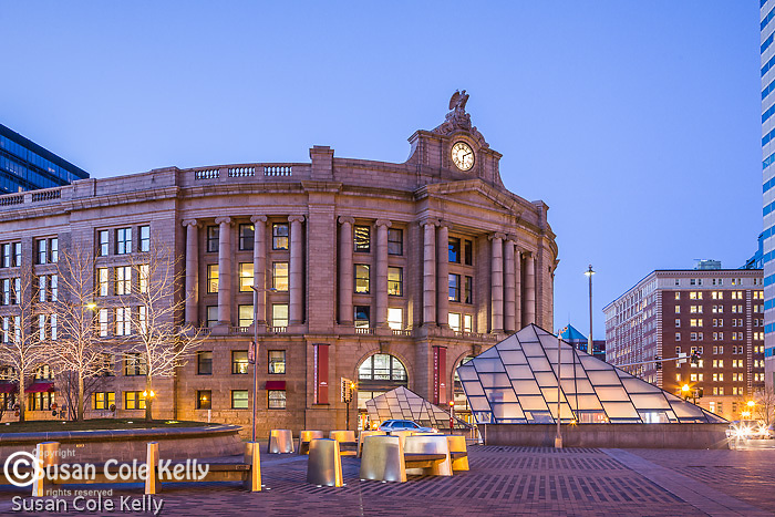 South Station, Boston, Massachusetts, USA