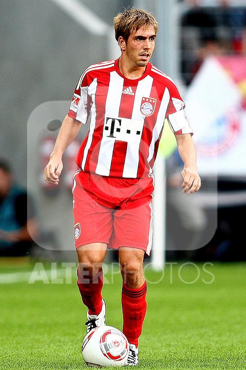 07.08.2010,  Augsburg, GER, 1.FBL, Supercup, FC Bayern Muenchen vs FC Schalke 04,  im Bild Philipp Lahm (Bayern #21) , Foto: nph /  Straubmeier
