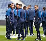 23.10.2019 Rangers press conference , Porto: Allan McGregor and Greg Stewart