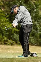 SAN ANTONIO, TX - MARCH 22, 2016: The University of Texas at San Antonio Roadrunners compete at the UTSA Lone Star Invitational Golf Tournament at the Briggs Ranch Golf Club. (Photo by Jeff Huehn)