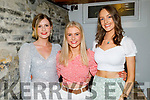 Katie Cronin, Emma Leahy and Amanda Twomey enjoying the evening in Bella Bia on Friday.