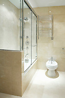 Contemporary shower cubicle