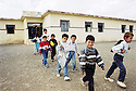 Irak 2000 Sortie de classes a Levo, un village pres de Zakho  Iraq 2000  After school in Levo, a village near Zakho.