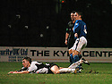 13/12/03          Copyright Pic : James Stewart.File Name : stewart005-ayr v st john.PAUL BERNARD (4) SCORES THE FIRST....Payment should be made to :-.James Stewart Photo Agency, 19 Carronlea Drive, Falkirk. FK2 8DN      Vat Reg No. 607 6932 25.Office     : +44 (0)1324 570906     .Mobile  : +44 (0)7721 416997.Fax         :  +44 (0)1324 570906.E-mail  :  jim@jspa.co.uk.If you require further information then contact Jim Stewart on any of the numbers above.........