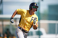 Pittsburgh Pirates Hunter Owen (67) during an Instructional League Intrasquad Black & Gold game on September 20, 2016 at Pirate City in Bradenton, Florida.  (Mike Janes/Four Seam Images)