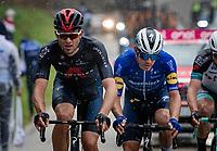 breakaway group led by Filippo Ganna (ITA/INEOS Grenadiers)<br /> <br /> Stage 5 from Castellalto to Castelfidardo (205km)<br /> <br /> 56th Tirreno-Adriatico 2021 (2.UWT) <br /> <br /> ©kramon