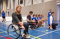 03-01-13, Rotterdam, Tennis, Selection ballkids for ABNAMROWTT, Esther Vergeer