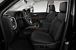 Front seat view of 2020 GMC Sierra-2500-HD Denali 4 Door Pick-up Front Seat  car photos
