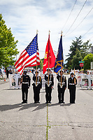 Colors of Freedom Parade, 4th of July, Everett, WA, USA.