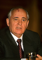 Montreal (Qc) CANADA - File Photo - March 27 1993- Mikhail Gorbachev