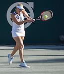 April  8, 2016:  Elena Vesnina (RUS) defeated Laura Siegemund (GER) 7-5, 6-4, at the Volvo Car Open being played at Family Circle Tennis Center in Charleston, South Carolina.  ©Leslie Billman/Tennisclix/Cal Sport Media