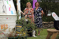 Pictured: Maria Golightly (L) Saturday 13 August 2016<br />