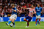 Joao Felix of Atletico de Madrid and Matthijs De Ligt of Juventus during UEFA Champions League match between Atletico de Madrid and Juventus at Wanda Metropolitano Stadium in Madrid, Spain. September 18, 2019. (ALTERPHOTOS/A. Perez Meca)