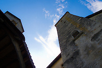 Château de la Gruyère (Castle) tower and chapel