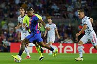 14th September 2021; Nou Camp, Barcelona, Spain; UEFA Champions league, FC Barcelona versus Bayern;  Memphis Depay