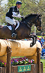 April 26, 2014: BAY MY HERO, ridden by William Fox-Pitt (GBR), competes in the Cross County Test at the Rolex Kentucky 3-Day Event at the Kentucky Horse Park in Lexington, KY Scott Serio/ESW/CSM