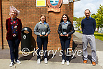 Kerry Young Historian Awards: Tarbert Copmpreensive School students Aisling O'Donoghue, Moyvane & Ava Fitzgerald, Moyvane won 3rd & 2nd in the Kerry Young Historian awards who were presented with their awards by Vanessa McCarthy, KCC & Kerry Archelogical & Historical Society with theit teacher Kevin O'Keeffe on Monday last.