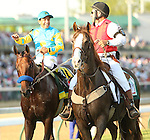 May 2 2015: American Pharoah with Victor Espinoza win the 141st running of the Grade 1 Kentucky Derby for 3-year olds going 1 1/4 mile at Churchill Downs.  Trainer Bob Baffert. Owner Zayat Stables LLc. Sue Kawczynski/ESW/CSM