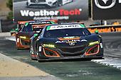 IMSA WeatherTech SportsCar Championship<br /> AMERICA'S TIRE 250<br /> Mazda Raceway Laguna Seca<br /> Monterey, CA USA<br /> Sunday 24 September 2017<br /> 86, Acura, Acura NSX, GTD, Oswaldo Negri Jr., Jeff Segal<br /> World Copyright: Richard Dole<br /> LAT Images<br /> ref: Digital Image DSC_3877