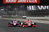 #8: Marcus Ericsson, Chip Ganassi Racing Honda, #60: Jack Harvey, Meyer Shank Racing Honda