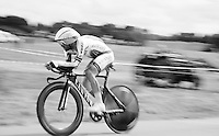 solo-ing to the finish (after having dropped from his teammates) to make the time-cut<br /> <br /> stage 9: TTT Vannes - Plumelec (28km)<br /> 2015 Tour de France