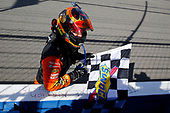 Martin Truex Jr., Furniture Row Racing, Toyota Camry Bass Pro Shops/5-hour ENERGY celebrates his win