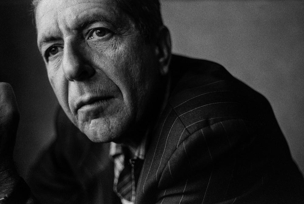 Leonard Cohen Antonio Olmos Photographer