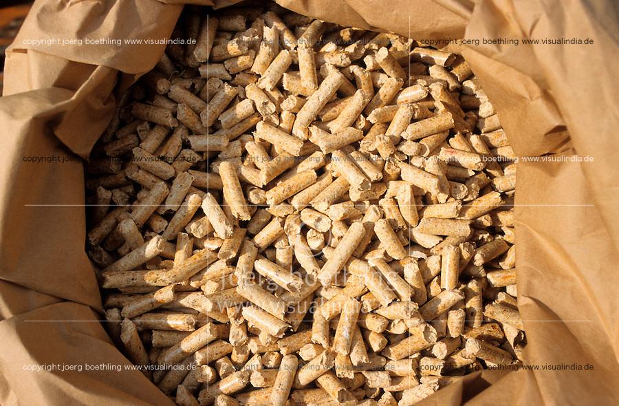 Deutschland Holzpellets zum Heizen / GERMANY wooden pellets for heating