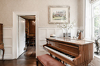 BNPS.co.uk (01202) 558833<br /> Picture: Strutt&Parker/BNPS<br /> <br /> Pictured: There's room for a piano<br /> <br /> A handsome Georgian townhouse where a former Prime Minister held important meetings is on the market for £1.5m.<br /> <br /> Glenhurst is a Grade II Listed home in Bewdley, Worcs, which was Stanley Baldwin's hometown.<br /> <br /> The owners have minutes from a meeting held at the property over a century ago which show Baldwin's name listed.<br /> <br /> Baldwin was Prime Minister three times between the First and Second World Wars and it is believed that during this time he used Glenhurst's wood-panelled dining room for meetings.