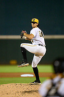 Bradenton Marauders pitcher Nick Garcia (34) during Game Two of the Low-A Southeast Championship Series against the Tampa Tarpons on September 22, 2021 at LECOM Park in Bradenton, Florida.  (Mike Janes/Four Seam Images)