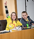 09/06/2010   Copyright  Pic : James Stewart.008_msp_presentation  .::  HELIX PROJECT ::  KIDS FROM THE GREEN TEAM GIVE THEIR PRESENTATION IN ONE OF THE COMMITTEE ROOMS AT SCOTTISH PARLIAMENT   ::.