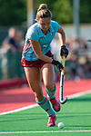 GBR - London, Great Britain, May 20: During the gold medal field hockey match between Uhlenhorster HC Hamburg (light blue) and sHertogenbosch blackx) at the EuroHockey Club Cup Women on May 20, 2018 at Surbiton HC in London, Great Britain. Final score 1-2. (Photo by Dirk Markgraf / www.265-images.com) *** Local caption ***
