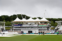 A general image of the Pavillion at the Hampshire Bowl during India vs New Zealand, ICC World Test Championship Final Cricket at The Hampshire Bowl on 18th June 2021