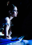 English National Ballet dancer Alison McWhinney in the wings